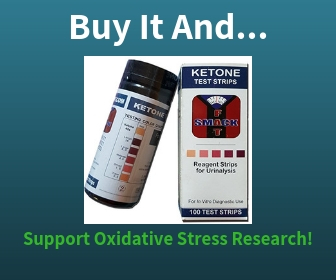 Buy Urine Ketone Test Strips and Support Oxidative Stress Research