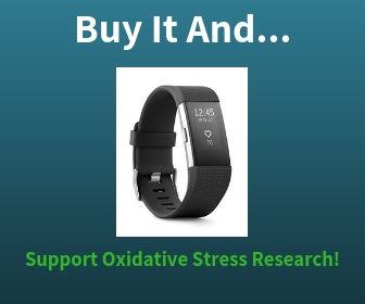 Buy the Fitbit Fitness and Heart Rate Tracker and Support Oxidative Stres